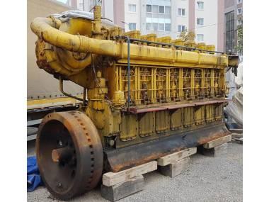 SKL 8NVD 48A-2U Complete Main Engine Motores