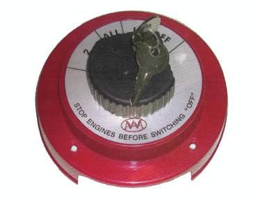 Desconectador de 1 o 2 baterías con llave Otros