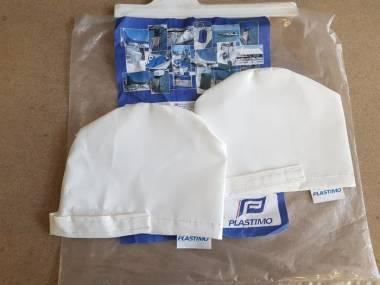 Fundas BLANCO de PVC pare winche. 2 piezas. Plastimo 40449 Equipo cubierta