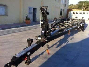 Remolque de aluminio para barcos hasta 13m Remolques