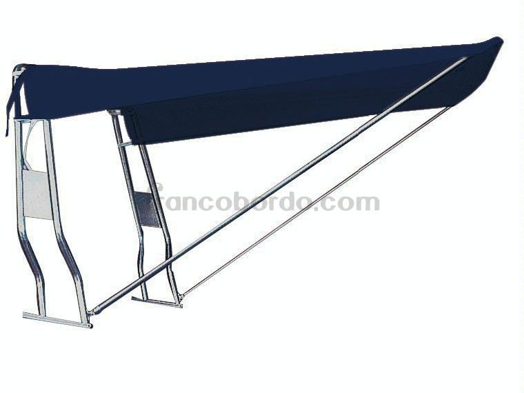 Toldo plegable parasol azul marino otros 01481 cosas de barcos - Toldo plegable ...