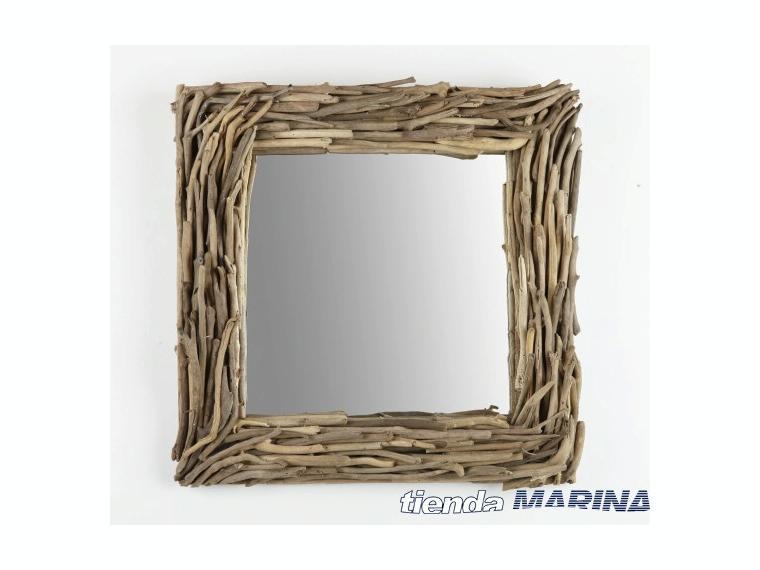 Espejo Marco Madera 415006   Otros 45010 - Cosas de Barcos