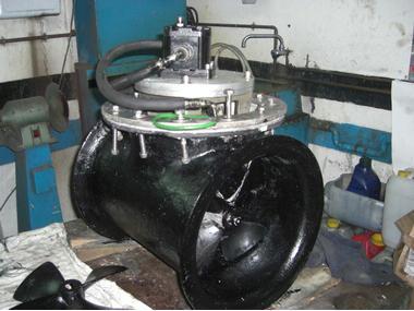 HELICE POPA HIDRULICA Motores
