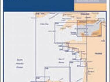 C10 Imray chart, fecha de edición 2004, impreso 2005 Varios/Decor/Libros