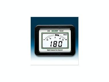Compás de regata SailComp 103AC con repetidor standard GPS Electrónica
