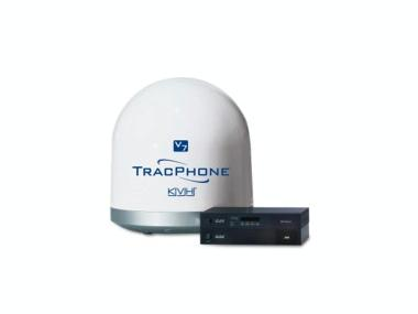 Terminal de comunicaciones mini V-SAT TracPhone V7 con ACU y modem para instalación en rack Electrónica