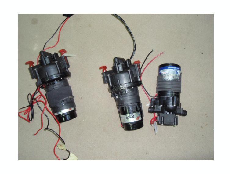 Bomba presion agua shurflo c presostato 12v de segunda - Bomba presion agua ...