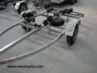 Remolque RQ F500XL Remolques