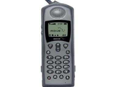 Teléfono vía satélite Iridium 9505A Electrónica