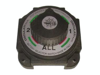 Desconectador de 1 o 2 baterías en policarbonato 380 A Otros