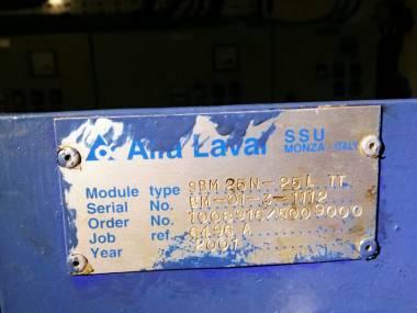 MODULO DE ACONDICIONAMIENTO DE COMBUSTIBLE(BOOSTER)ALFA LAVAL Motores