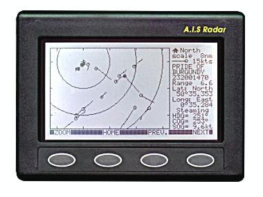 Radar AIS Clipper Electrónica