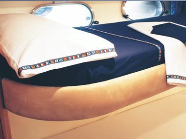 Sabana Encimera + Funda de Almohada Marine Business Confort a bordo