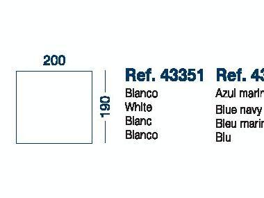 Sabana Bajera Ajustable Mod.F 190x200x200cm Marine Business Confort a bordo