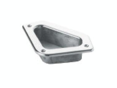 Gatera Acero Inox 200 mm Equipo cubierta