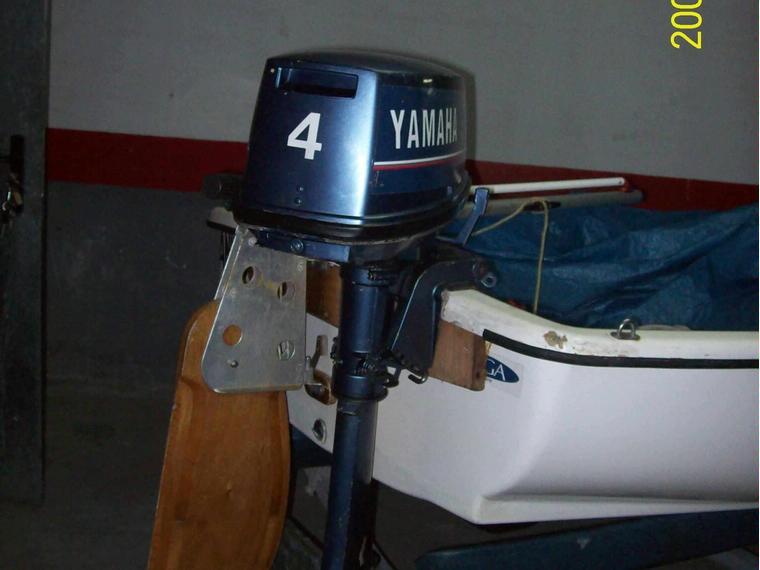 motor fueraborda yamaha 4cv 2t l de segunda mano 49564