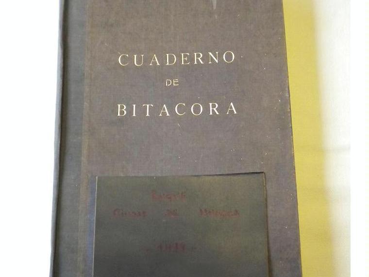 CUADERNO DE BITACORA BUQUE CIUDAD HUESCA de segunda mano ...