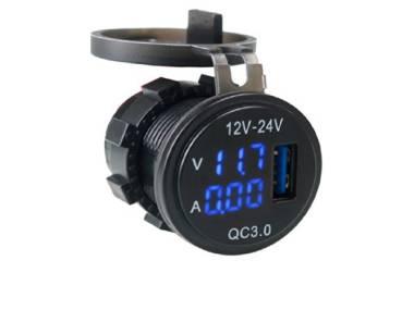 Voltimetro y Amperimetro con USB Otros