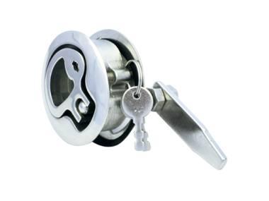 Cierre Empotrable Inox con llave Otros