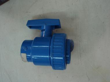 VALVULA PLASTICO REFORZADO 2 VIAS 1 1/2 ROSCA Motores