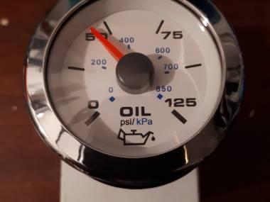Reloj presión de aceite Electrónica