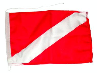 Bandera de submarinista internacional (roja) Pesca