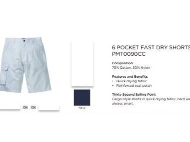 Pantalon corto, secado rápido MUSTO Moda y complementos