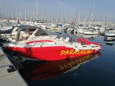 NUEVO BARCO PARACAÍDAS/PARASAILING ORCA 10.400 Navegación