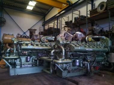 Guascor SF 480 1122kw 1500 r.p.m Motores