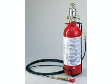 Extintor 2kg Fijo Mando a Distancia Plastimo Seguridad