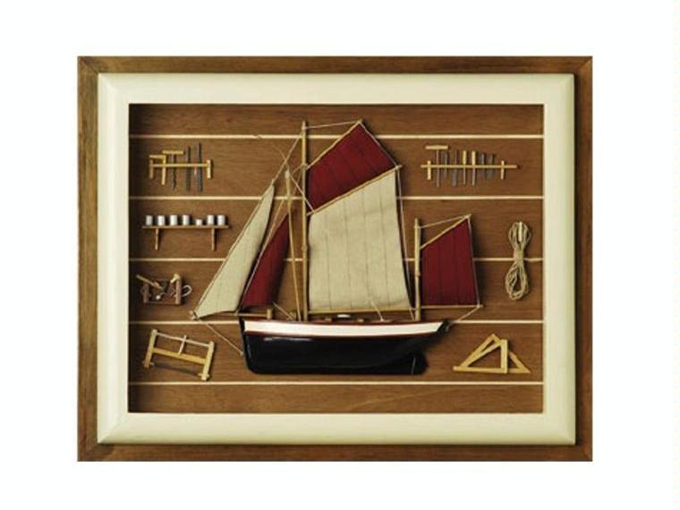 cuadro marino barco decoracin nutica otros