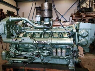 Dos Motores Guascor SF360 1180 c.v a 1800 r.p.m Motores