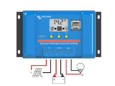 Controlador de Carga PWM LCD&USB Victron Energy Otros