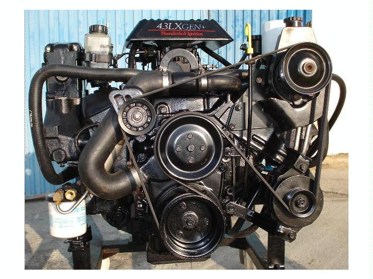 Motor Marino Mercruiser V6 4 3 Lx De Segunda Mano 51566