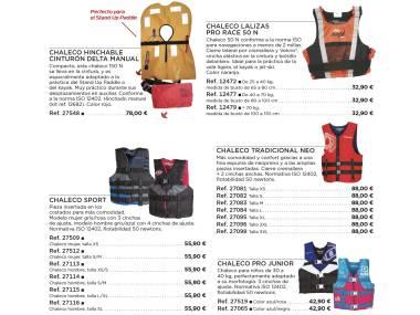 Chalecos sport flotantes Esqui nautico/Wakeboard