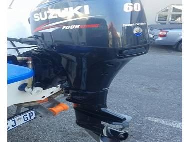 2017 Used Suzuki 60HP 4-Stroke Outboard Motor Engine Motores