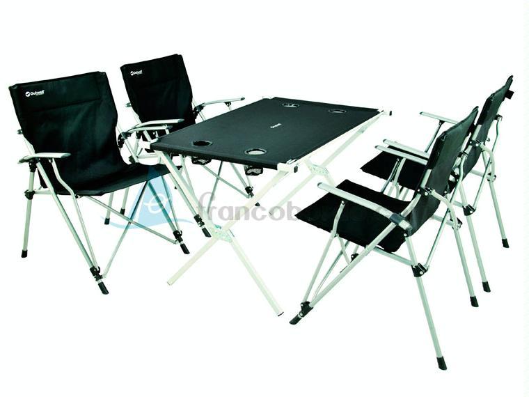Mesa Plegable De Camping Con 4 Sillas.Outwell Pack Camping 4 Sillas Mesa Otros 56991 Cosas
