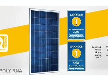 Placa solar Solarworld 130W 12V Electrecidade
