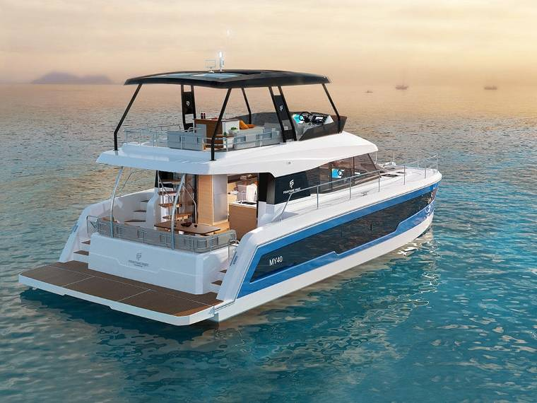 Fountaine Pajot MY 40 Catamaran a motor