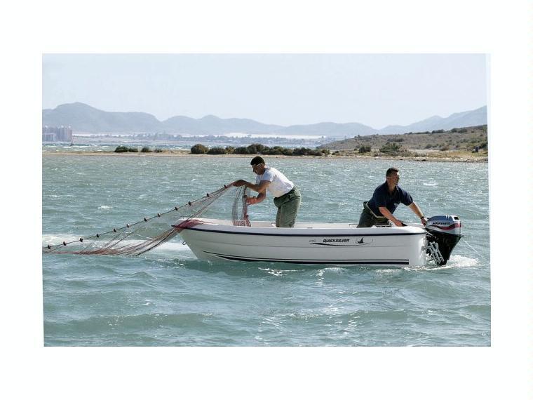 Quicksilver Captur 410 Fish Barco de pesca/paseo