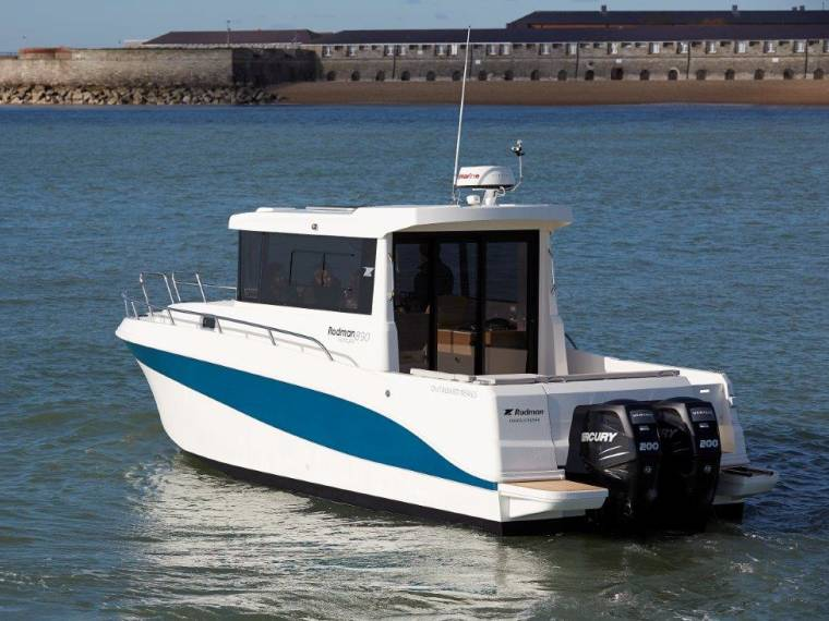Rodman 890 Ventura Outboard Barco de pesca/passeio