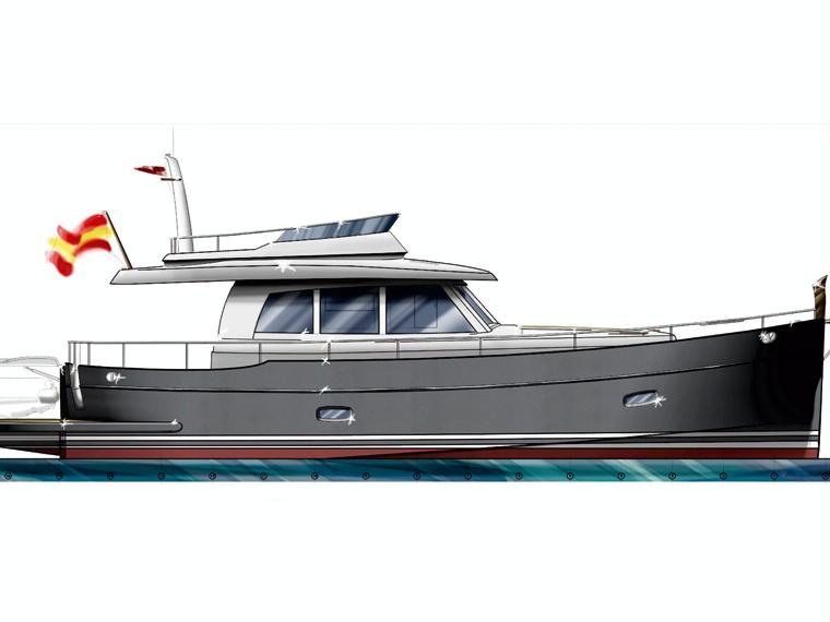 Sasga Yachts Minorchino 54 Embarcación cabinada