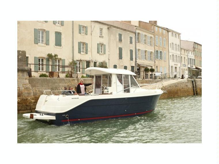 Quicksilver Captur 280 Arvor Barco de pesca/passeio