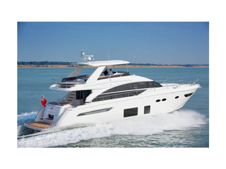 Barco Princess Yachts 68 Cosas De Barcos