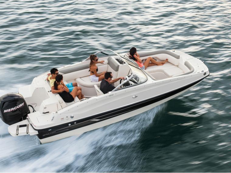 Bayliner 190 Deck Boat Embarcación abierta
