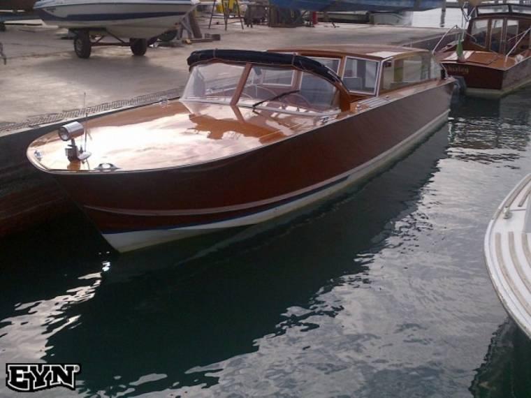 Venetian Wooden Taxi Boat