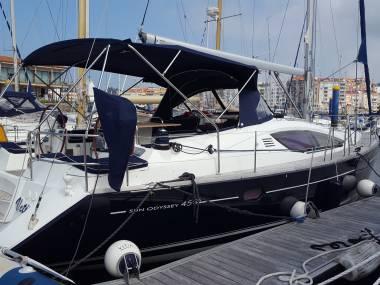 JEANNEAU SUN ODYSSEY 45 DS  2 cabinas