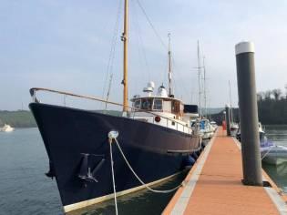 Cammenga De Vries Steel  Motor Yacht