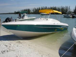 Donzi 27ZX 540 Fresh water cooled 75mph