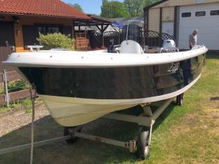 Konsolenboot Mazury 480